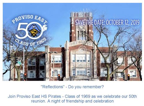 PEHS 50th Reunion Flyer