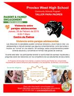 Teen Dating Violence Spanish