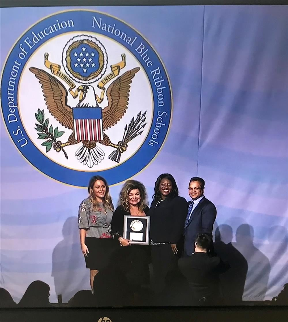 PMSA Honored at National Blue Ribbon School Special Ceremony in Washington D.C.