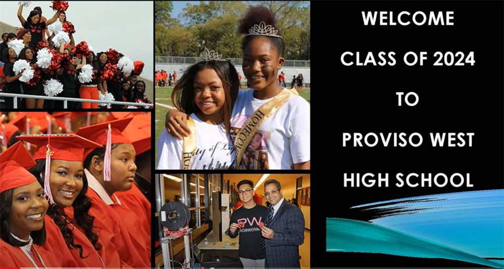 Proviso West High School welcomes the Class of 2024