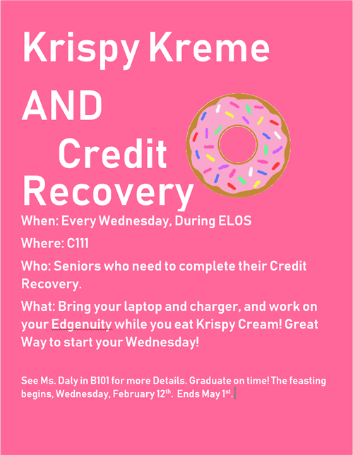 Krispy Kreme and Credit Recovery